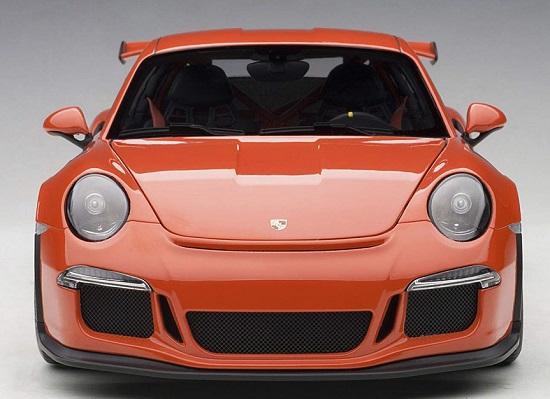 โมเดลรถ โมเดลรถยนต์ โมเดลรถเหล็ก Autoart Porsche 911 991 GT3 RS 4