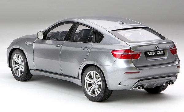 โมเดลรถ โมเดลรถเหล็ก โมเดลรถยนต์ BMW X6M grey 2
