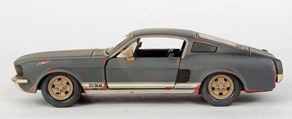 โมเดลรถ รถเหล็ก โมเดลรถเหล็ก โมเดลรถยนต์ Ford Offroad Old 3