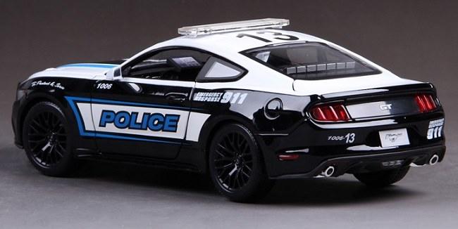 โมเดลรถ โมเดลรถเหล็ก โมเดลรถยนต์ Ford Police 911 4