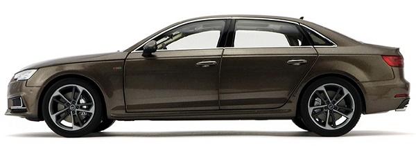 โมเดลรถ โมเดลรถเหล็ก โมเดลรถยนต์ Audi A4L brown 3