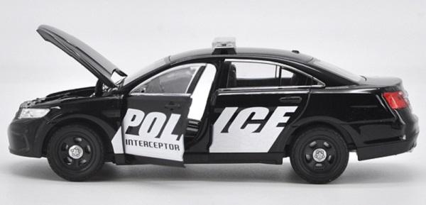 โมเดลรถยนต์ โมเดลรถเหล็ก Ford ตำรวจ 6