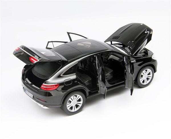 โมเดลรถ โมเดลรถเหล็ก โมเดลรถยนต์ Benz GLE 2015 Black 4