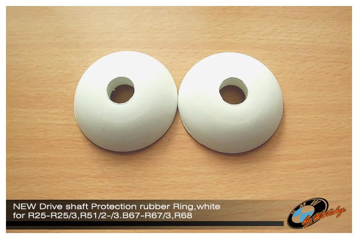 ยางกันผุ่นแกนเพลา สีขาวของใหม่ จากเยอรมัน ตรงรุ่นสำหรับ R25-R25/3,R51/2-/3,R67-R67/3,R68