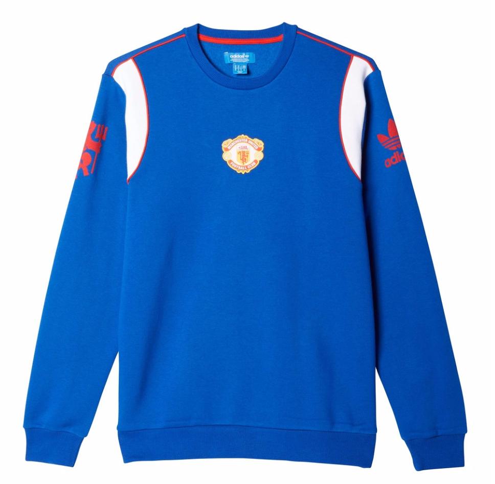 เสื้ออดิดาสแมนเชสเตอร์ ยูไนเต็ด Originals 1985 Crew Neck Sweatshirt ของแท้