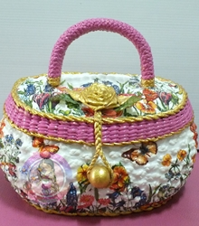กระเป๋า ผักตบชวา เดคูพาจ, เดคูพาจ ผักตบชวา, กระเป๋าผักตบชวา,กระเป๋า ผักตบชวา ราคาถูก,