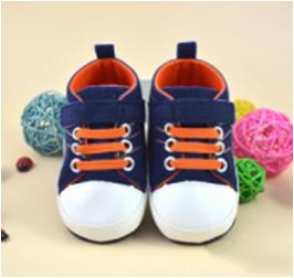 รองเท้าคัชชูเด็กอ่อน สีน้ำเงินเข้ม Size 12 13 14