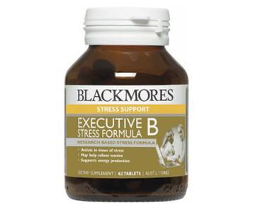 Blackmores Exec B 120 เม็ด บำรุงสมอง ลดความเครียด เหมาะสำหรับผู้บริหาร ผู้ที่ต้องใช้สมอง