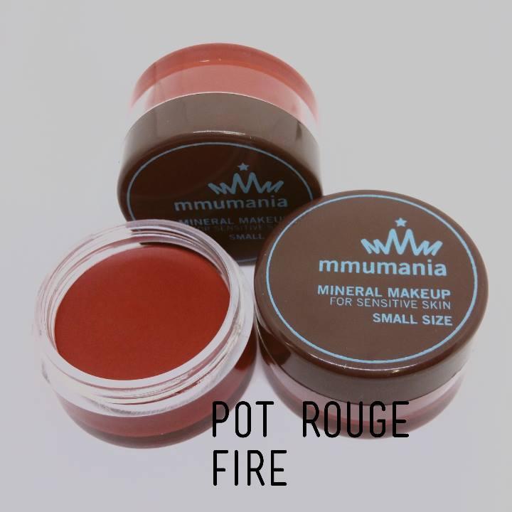 MMUMANIA Pot Rouge สี Fire ลิปสติกเนื้อแมท สีแดงสดอมส้ม