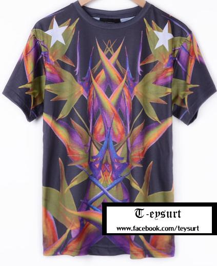 เสื้อGivenchy BirdOfParadise-Print Best Mirror
