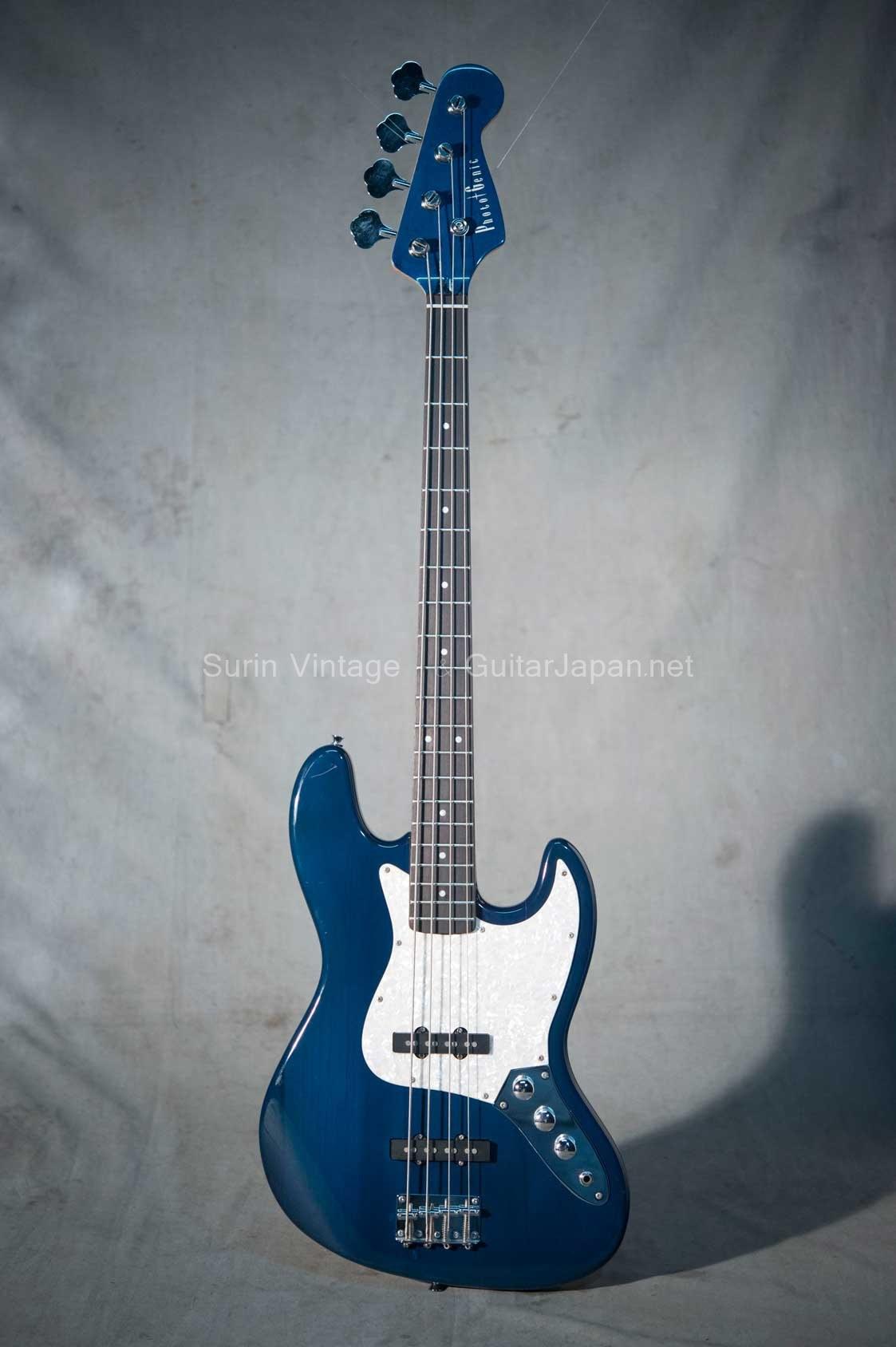 กีต้าร์ Bass ไฟฟ้ามือสอง Photogenic JazzBass No.8