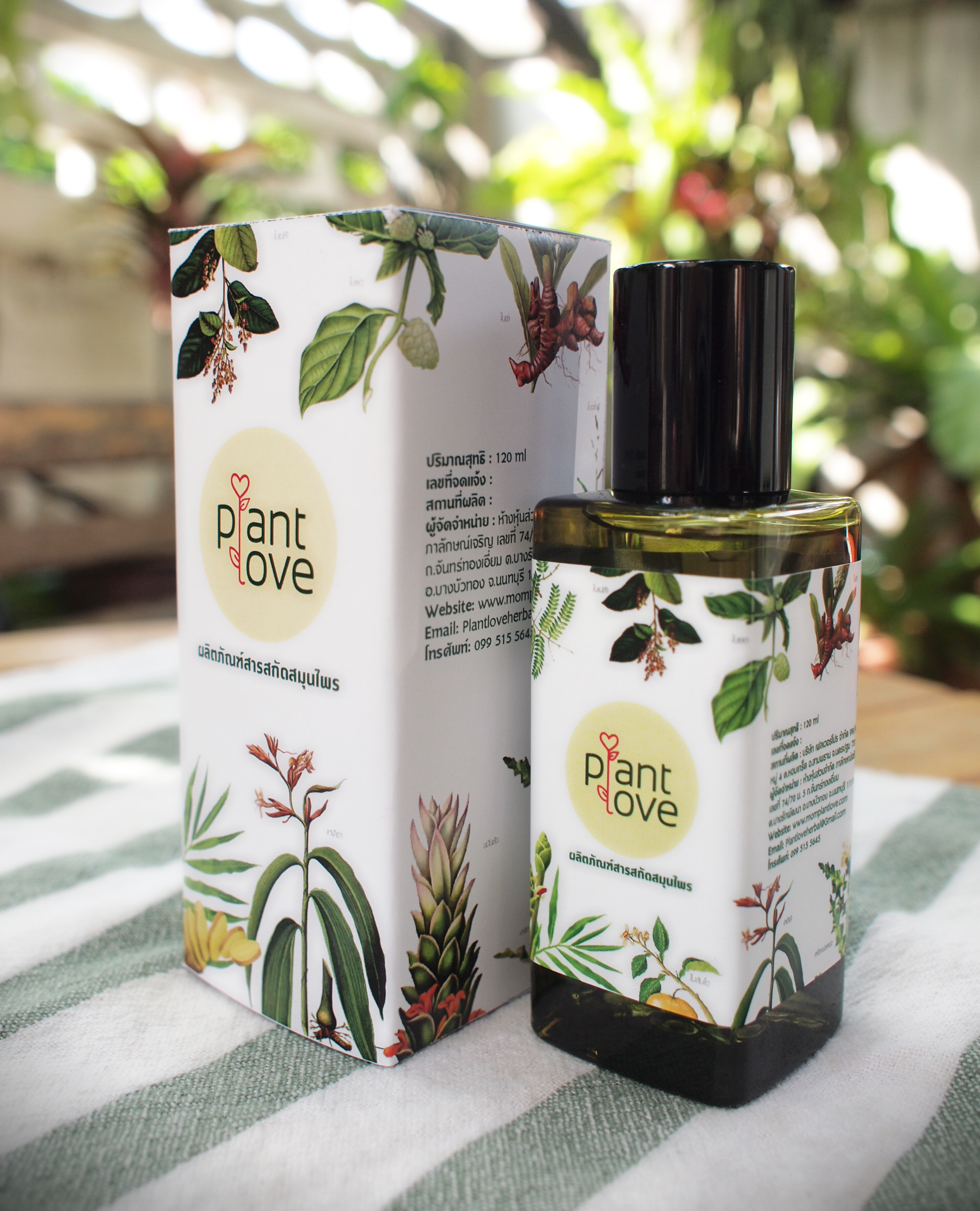 Concentrated Herbal Blend Extract for Bathing สารสกัดสมุนไพรเข้มข้น