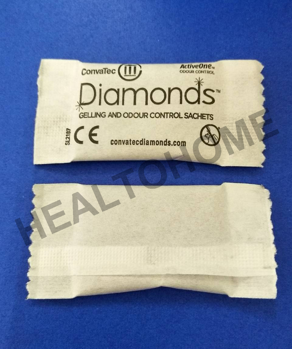 ถุงดับกลิ่น DIAMONDS GELLING AND ODOUR CONTROL SACHETS