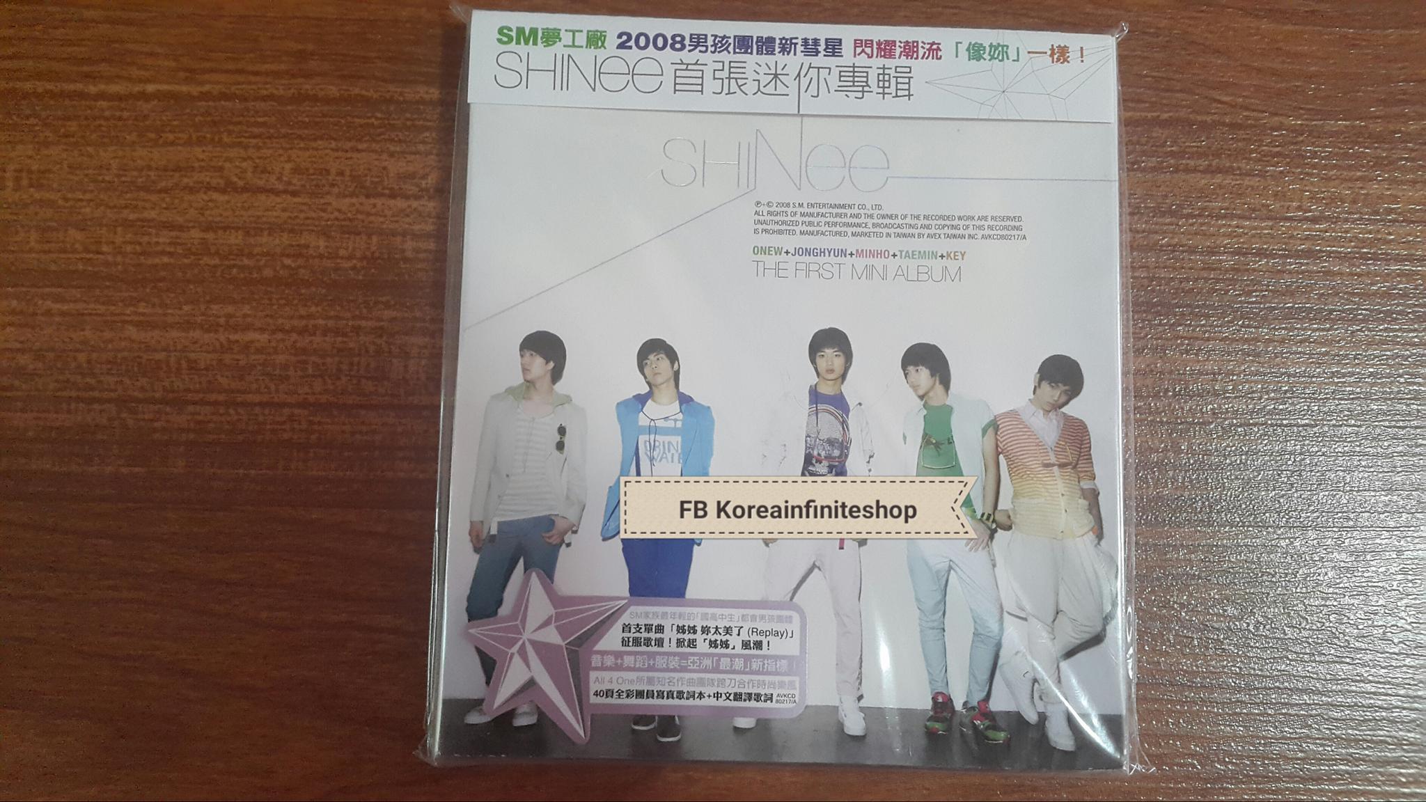 ( พร้อมส่ง ) SHINEE JAPANESE ALBUM MINI ALBUM 台湾盤 ไม่มี poster **  สินค้านำเข้าจากญี