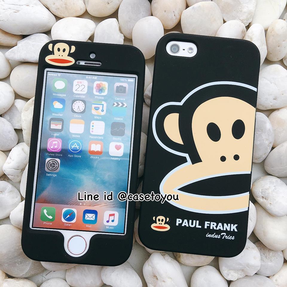 เคสประกบหน้า-หลัง Paul Frank สีดำ iPhone 5/5S และ SE