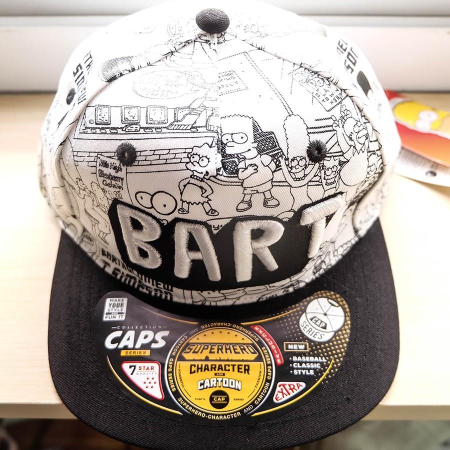 หมวก Snapback Simpson
