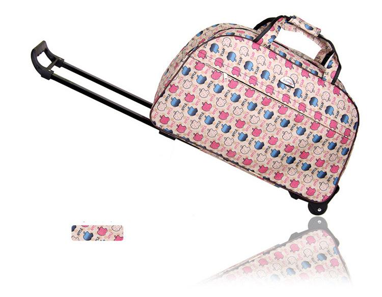 "Semor กระเป๋าเดินทาง 20"" ล้อลาก 2 ล้อ ผ้าโพลีเอสเตอร์ กันน้ำอย่างดี ( รุ่นหนา ) แข็งแรงทนทาน ทันสมัย"