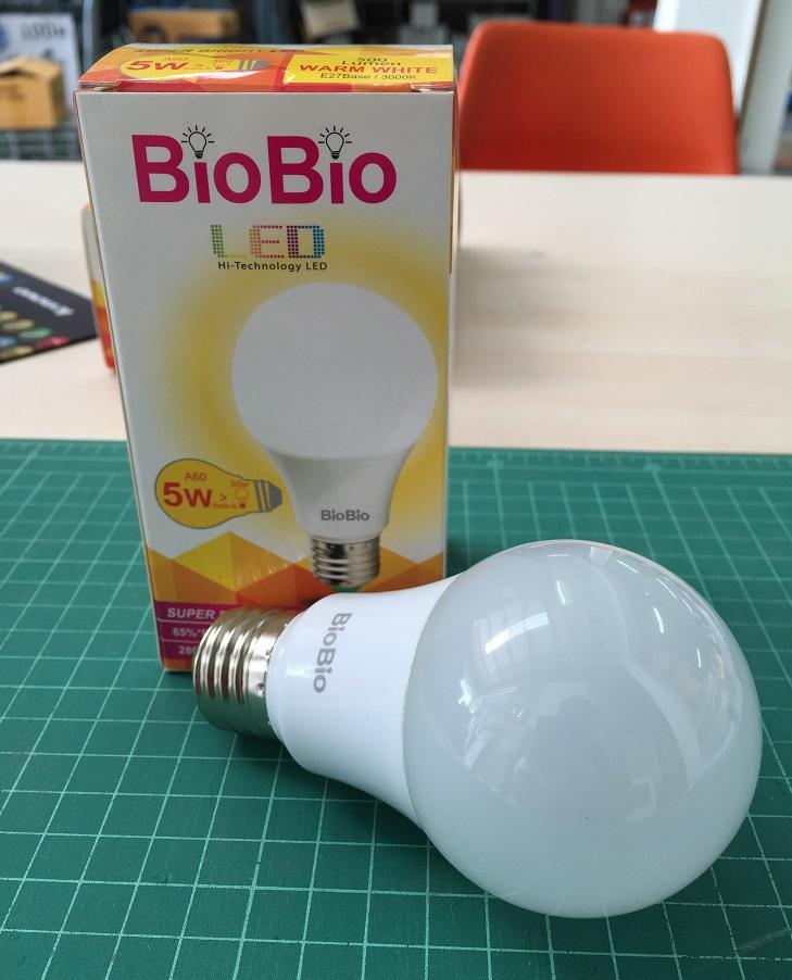 Biobio LED 5W Warm แสงเหลือง