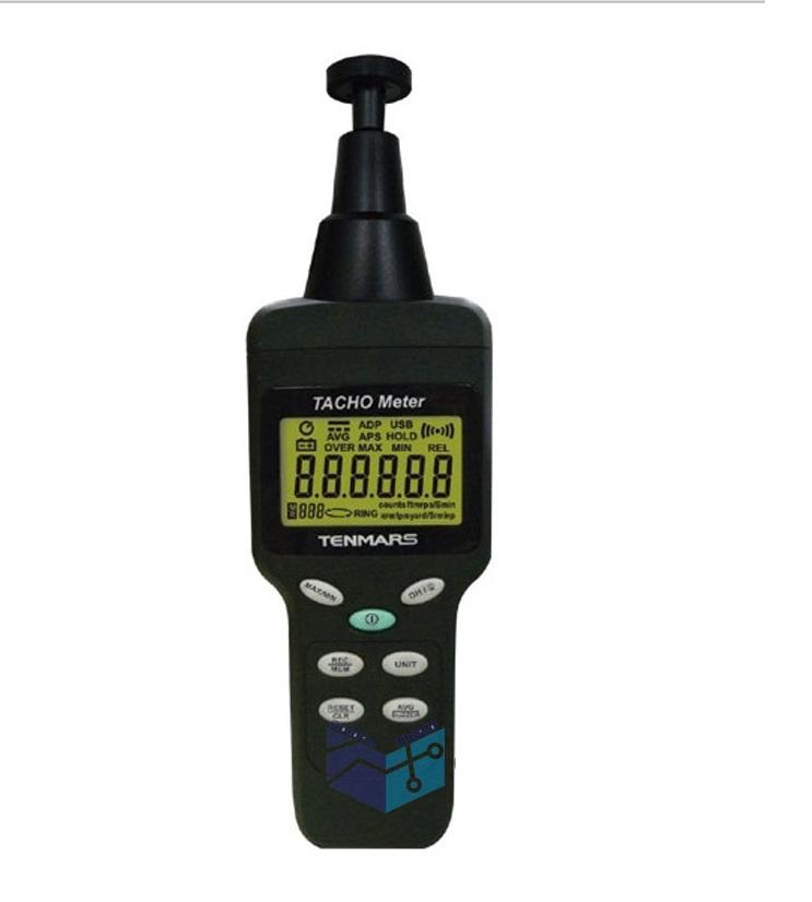 เครื่องวัดความเร็วรอบ (Digital Tachometer) แบบเลเซอร์ ยี่ห้อ Tenmars รุ่นTM-4100