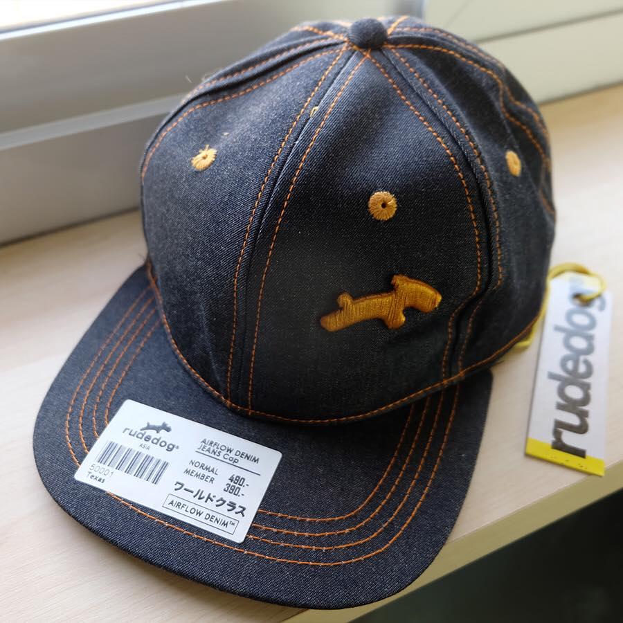 หมวกยีนส์ RUDEDOG ปักทอง