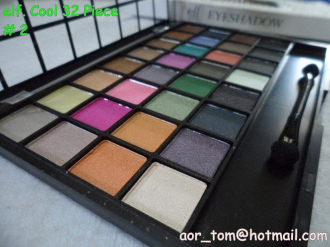 elf. eye shadow palette แบบ Cool 32 เฉดสี