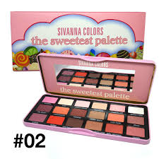 Sivanna The Sweetest palette ตลับสี ชมพู 02