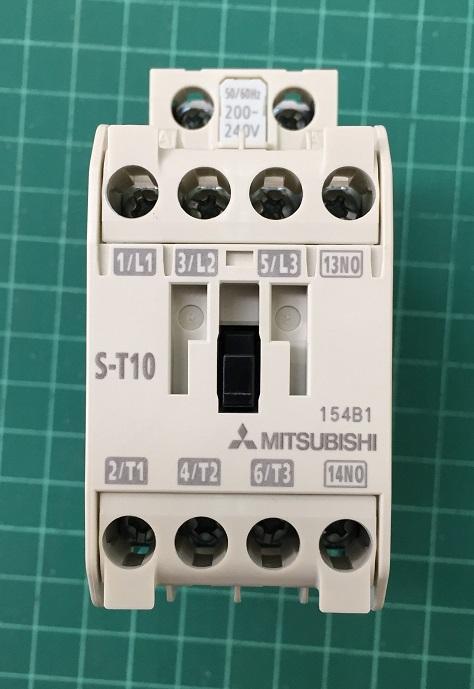 Magnetic Contactors S- T10 Coil 220V (20A) Mitsubishi