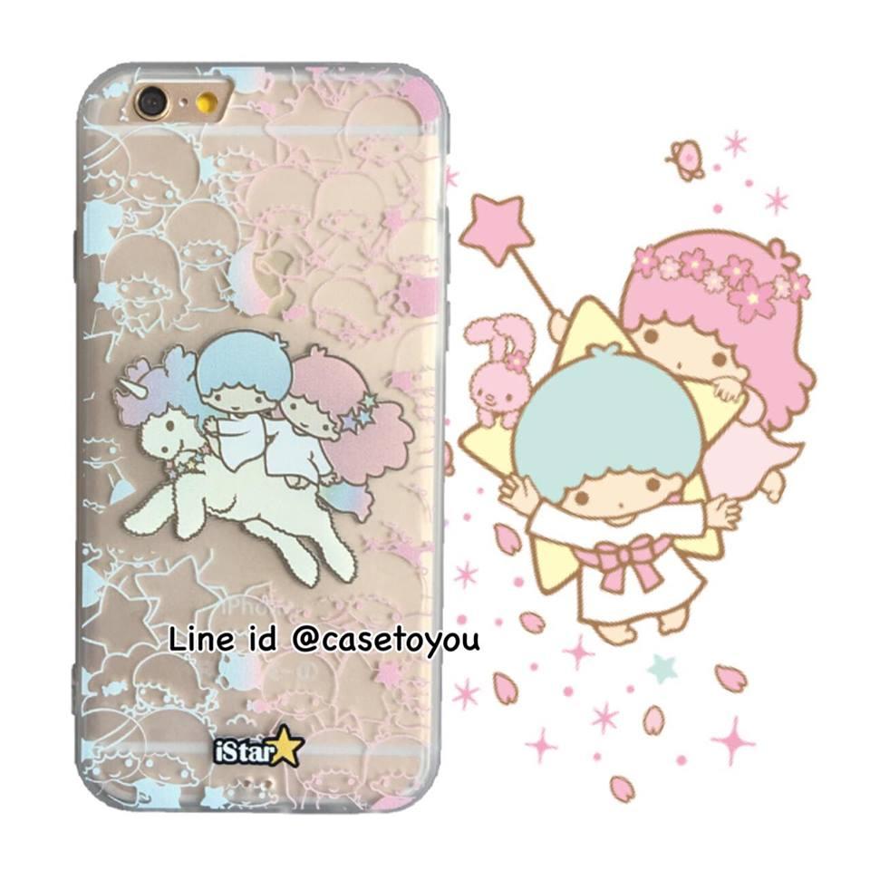 เคสใส สกรีนลายเส้นนูน Little Twinstar iPhone 6 Plus/ 6S Plus