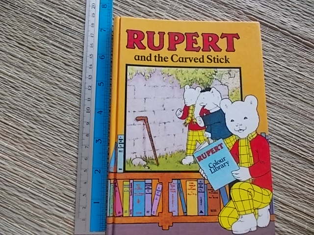 Rupert and the Carved Stick