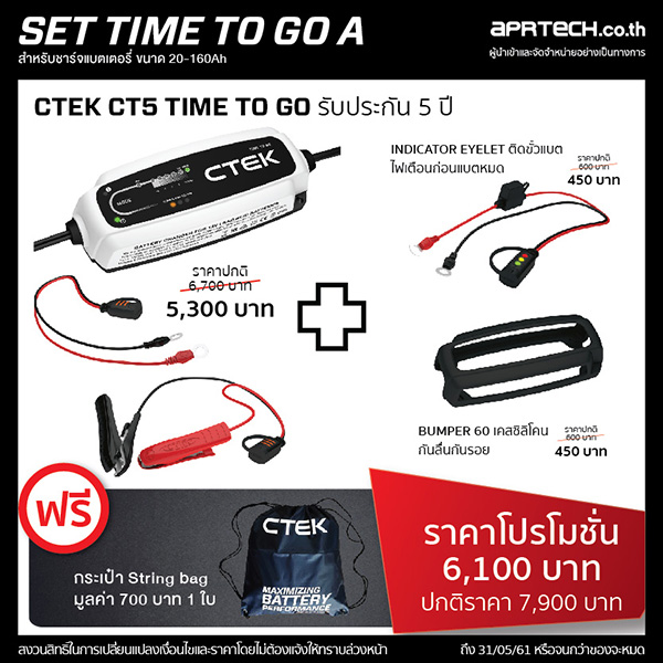SET : TIME TO GO A (CT5 TIME TO GO + Indicator Eyelet + Bumper)