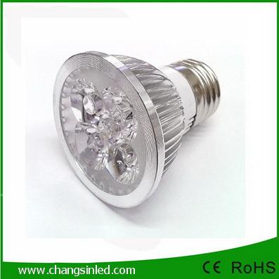 หลอดไฟLED E27 Spotlamp Aluminium 4w.