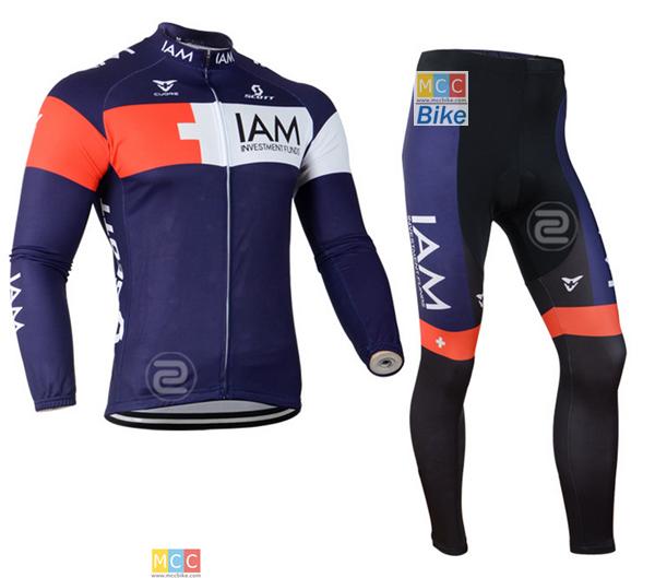 ชุดปั่นจักรยาน เสื้อปั่นจักรยาน และ กางเกงปั่นจักรยาน IAM ขนาด XL
