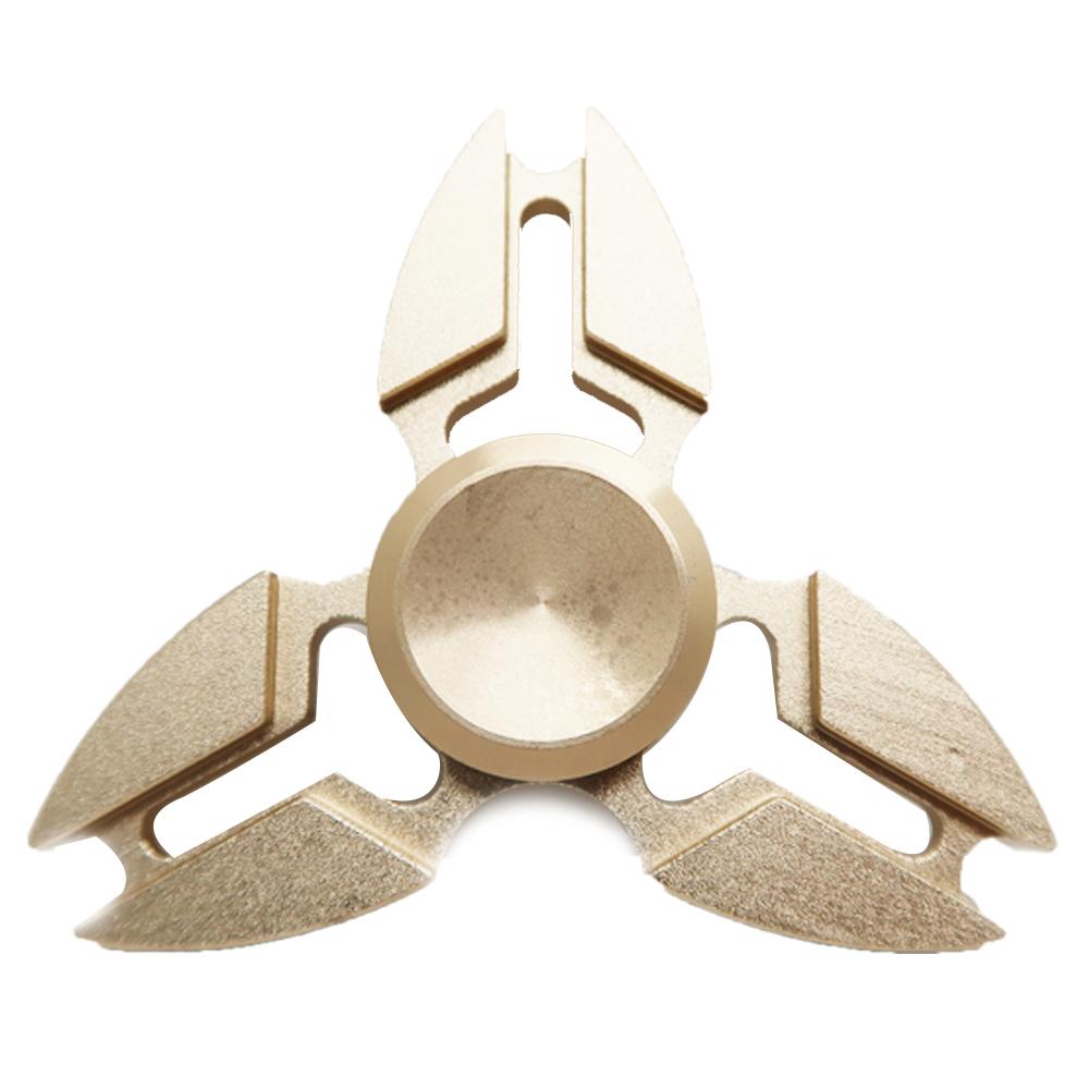 HF182-Fidget spinner -Hand spinner - GYRO (ไจโร) โลหะ สีทอง