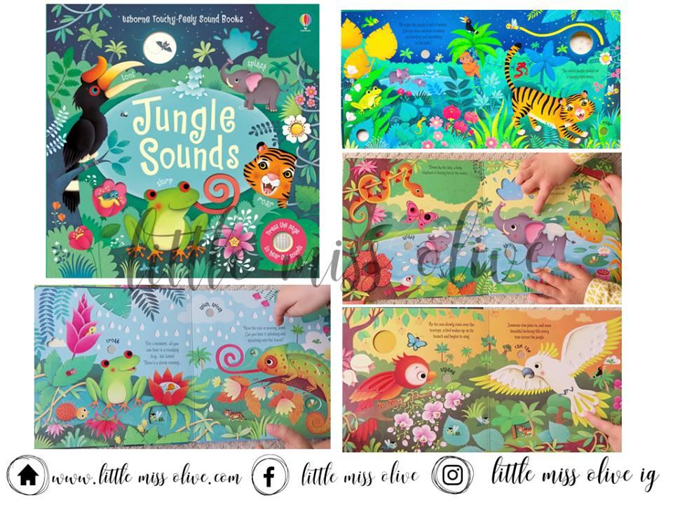 Usborne Touchy-feely Sound Books