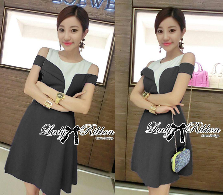 DR-LR-150 Lady Isabella Glamourous Chic Bold Dress