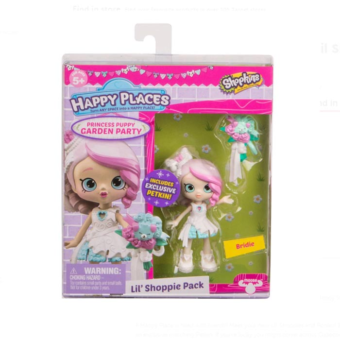 PR008 (Pre order) Shopkins Happy Places