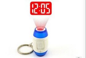 พวงกุญแจนาฬิกาโปรเจคเตอร์