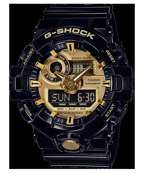นาฬิกาข้อมือ CASIO G-SHOCK STANDARD ANALOG-DIGITAL รุ่น GA-710GB-1A