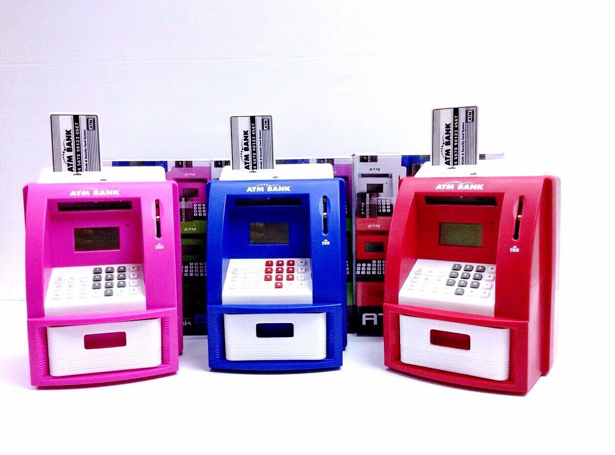 ATM ตู้เซฟออมสิน (สีเลือกได้ที่หมายเหตุ)