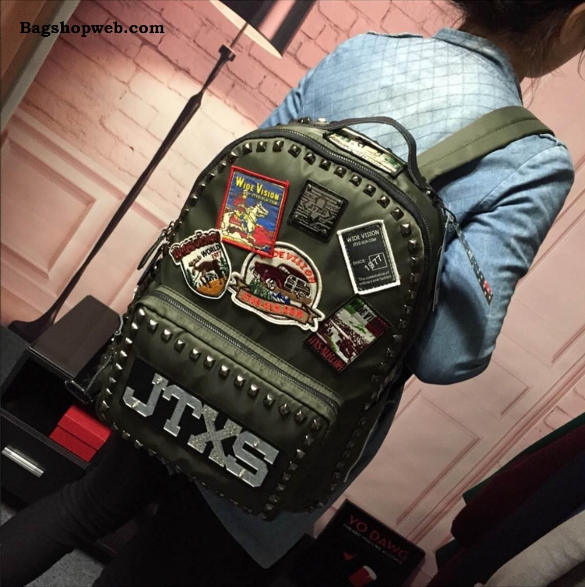 กระเป๋าเป้ JTXS HONGKONG BACKPACK 2017 สีเขียว ราคา 1,590 บาท Free Ems
