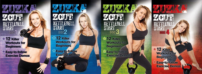ZCUT Kettlebell Start with Zuzka Light 4 DVD Set