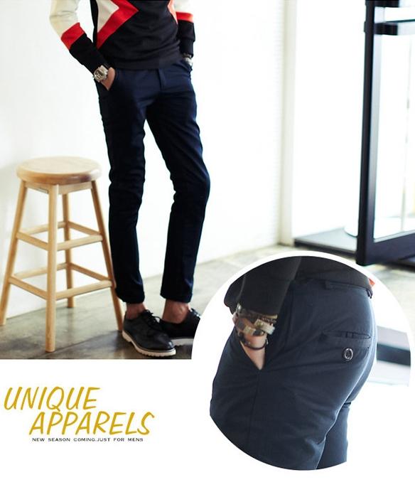 กางเกงขายาว แฟชั่นเกาหลี