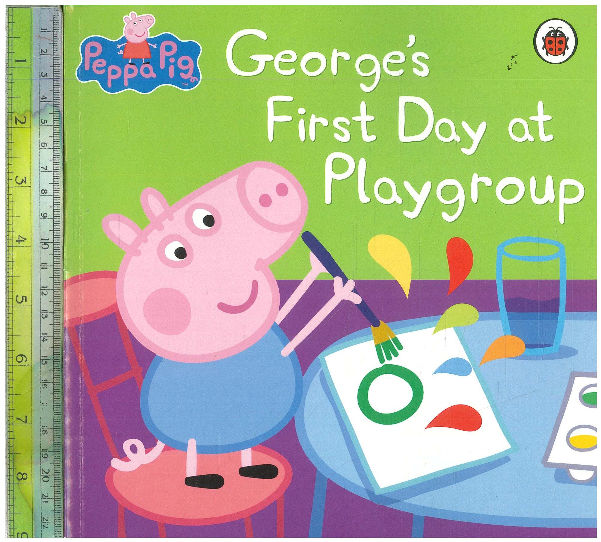 George's Frist Day at Playgroup