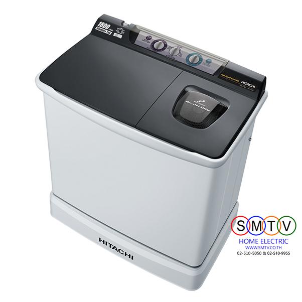 เครื่องซักผ้า 2 ถัง 10.5 kg ยี่ห้อ HITACHI รุ่น PS-105LSJ