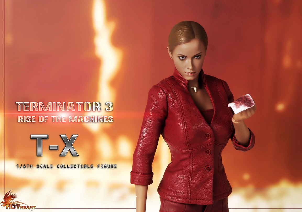 Hot Heart FD002 scale collectible figure Terminator T-X