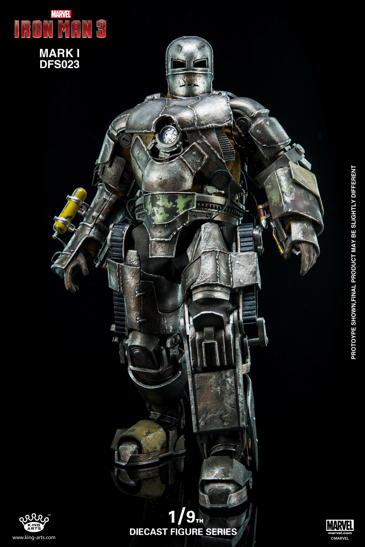 King Arts DFS023 Diecast Figure Series 1/9 Diecast Action Iron Man Mark 1