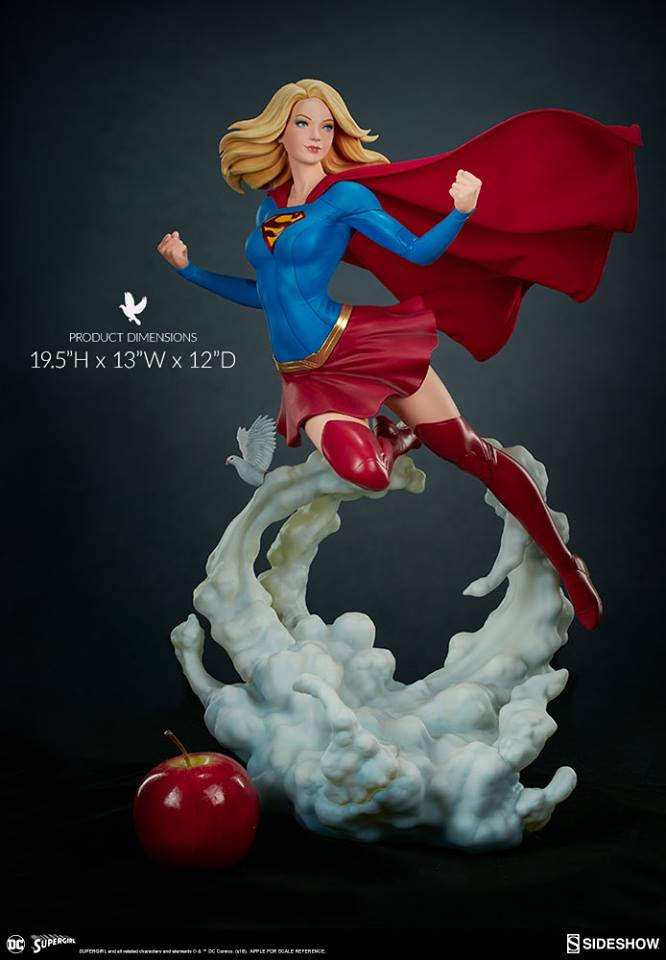 Supergirl Premium Format™ Figure by Sideshow Collectibles