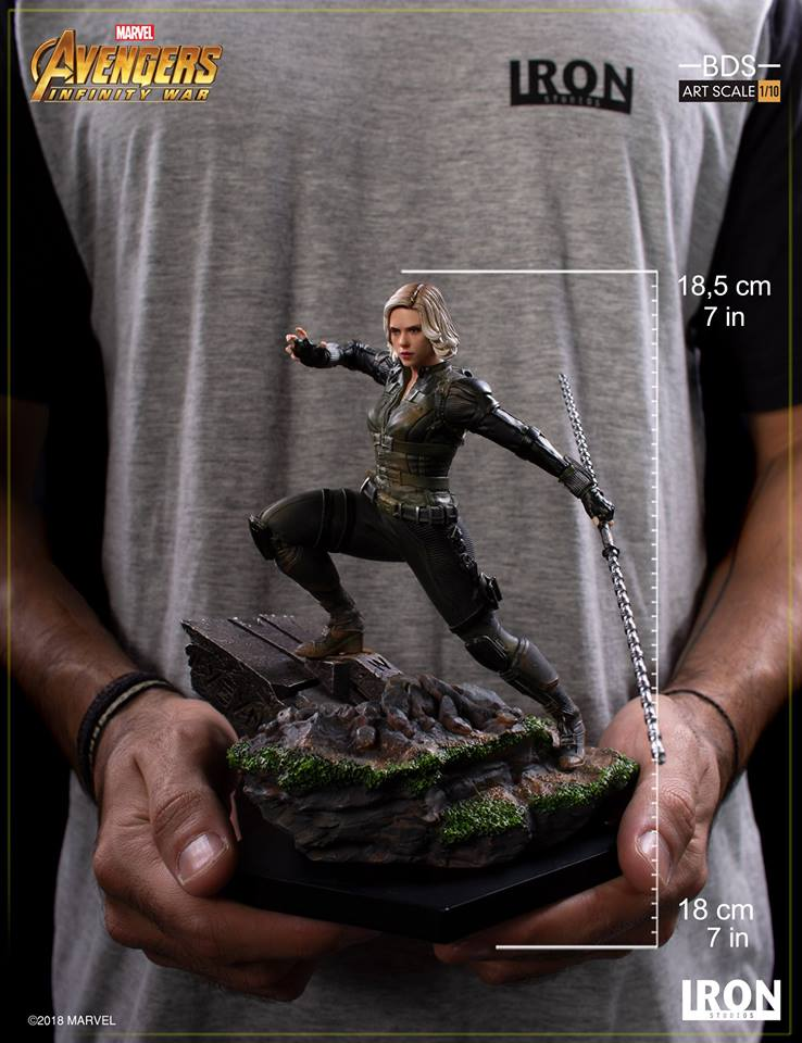 31/05/2018 Iron Studios - Black Widow BDS Art Scale 1/10 Avengers Infinity War