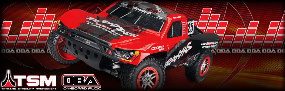 Slash 4X4: 1/10 Scale 4WD Electric Short Course Truck with TQi Traxxas Link Enabled 2.4GHz Radio System, On-Board Audio, & Traxxas Stability Management (TSM)