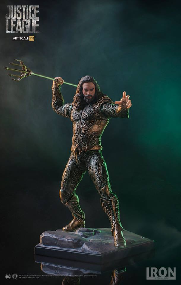 IRON STUDIOS Aquaman Art Scale 1/10 - Justice League